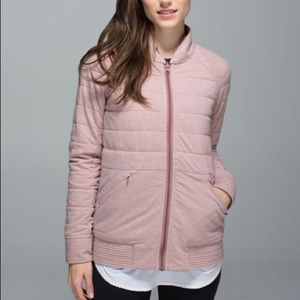 Lululemon The Bomb Bomber Jacket.